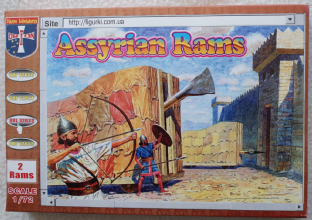 Orion Figures 1/72 OF72022 Assyrian Rams (Ancients)